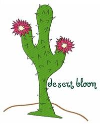 Desert Bloom embroidery design