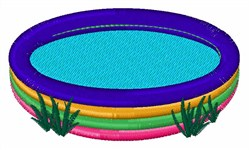 Kiddie Pool embroidery design