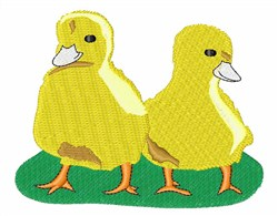 Yellow Chicks embroidery design