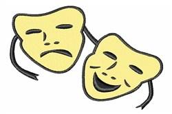 Theatre Masks embroidery design