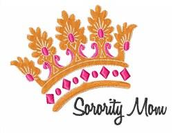 Sorority Mom embroidery design