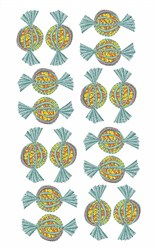 Wrapped Candy embroidery design