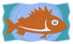 Fish in Water embroidery design