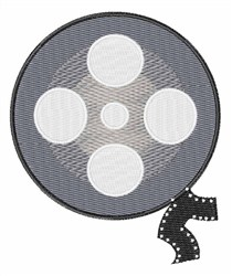 Film Reel embroidery design
