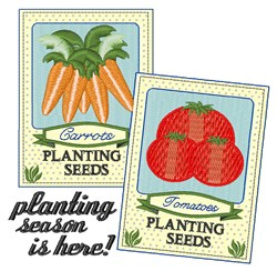 Planting Season embroidery design