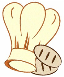 Baker Hat & Buns embroidery design