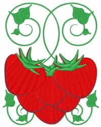 Strawberry Vine embroidery design