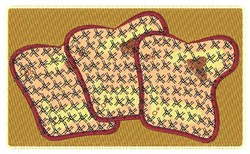 Toasted Bread embroidery design