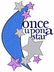 Once Upon A Star embroidery design