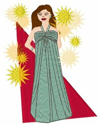 Starlet embroidery design
