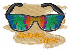 Summer Lovin embroidery design