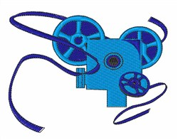 Movie Reels embroidery design