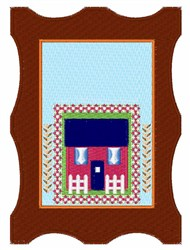 House Picture embroidery design