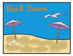 Beach Season embroidery design