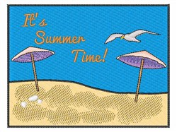 Its Summer Time embroidery design