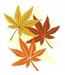 Autumn Marijuana Leaves embroidery design