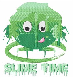 Slime Time embroidery design