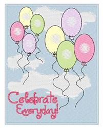 Celebrate Everyday embroidery design