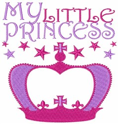My Little Princess embroidery design