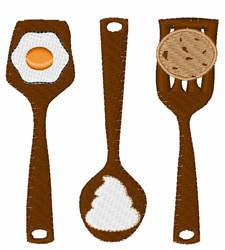 Kitchen Tools embroidery design