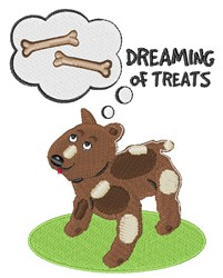 Treats Dreaming embroidery design
