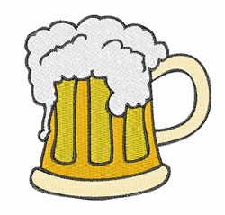 Mug of Beer embroidery design