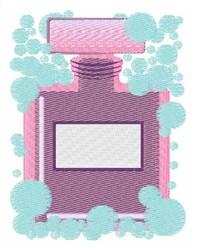 Perfume Bubbles embroidery design