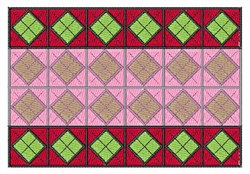 Argyle Blank embroidery design