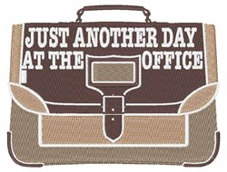 Day at the Office embroidery design