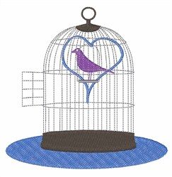 Freed Love Bird embroidery design