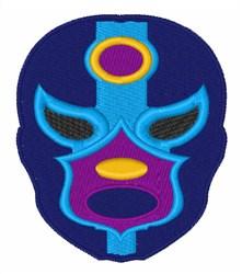 Lucha Libre Mask embroidery design