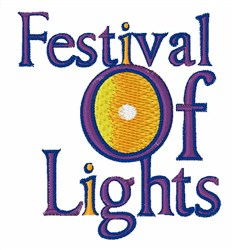 Festival Of Lights embroidery design