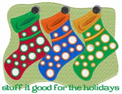 Stuff Stockings embroidery design