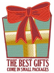 Small Packages embroidery design
