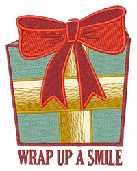 Gift Wrap embroidery design