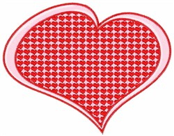 Big Heart embroidery design