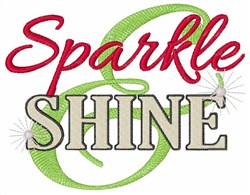 Sparkle & Shine embroidery design