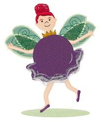 Sugar Plum Fairy embroidery design