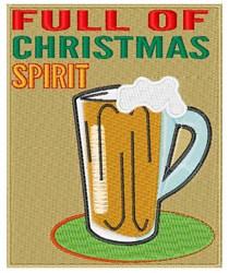 Christmas Spirit embroidery design