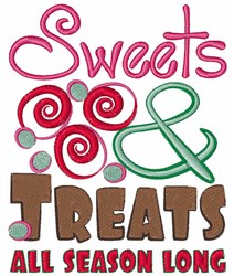 Sweets All Season embroidery design