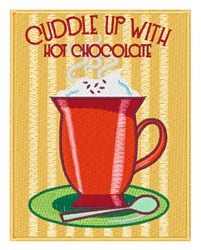 Hot Chocolate Mug embroidery design