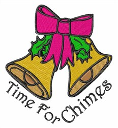 Christmas Chimes embroidery design