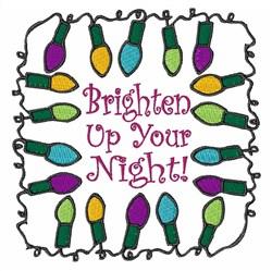 Brighten Up embroidery design