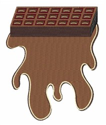Chocolate Bar Base embroidery design