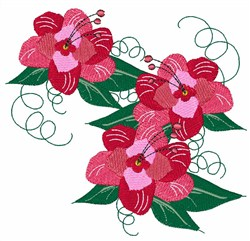 Rose Flowers embroidery design