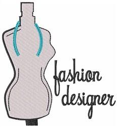 Fashion Designer embroidery design