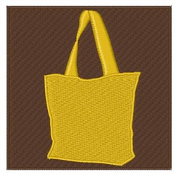 Yellow Cloth Bag embroidery design