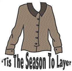 Season To Layer embroidery design
