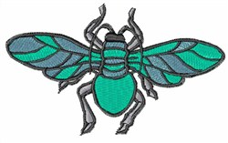 Green Fly embroidery design