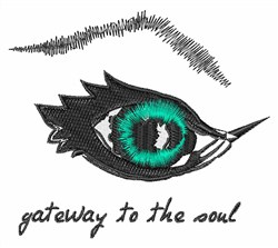 Gateway To The Soul embroidery design
